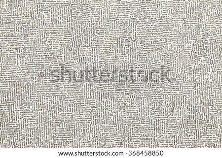 Newspaper Article Pieces Background - stock photo