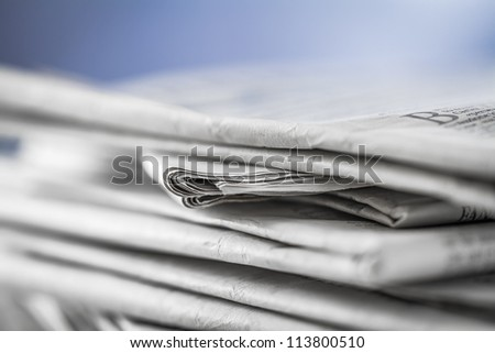 newspaper,document for information