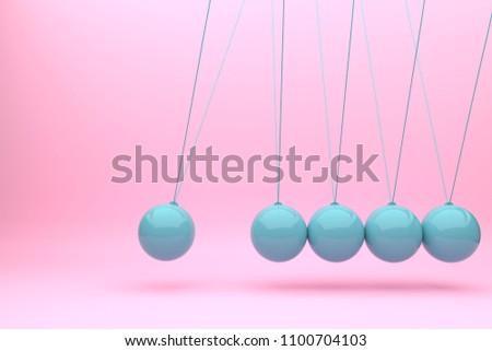 newton ball balance ball design toyillustration stock illustration