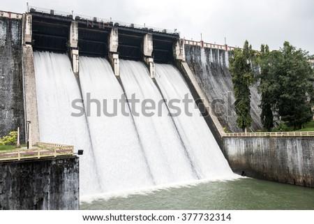 Neyyar Reservoir Trip - stock photo