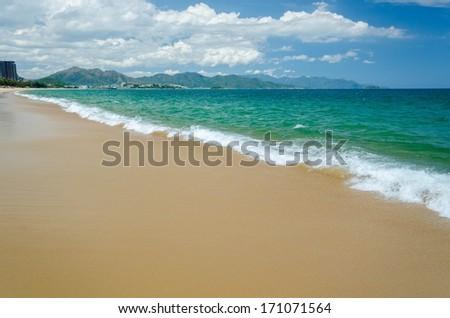 Nha Trang beach - stock photo