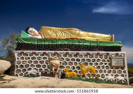 NHA TRANG,VIETNAM- November 01, 2016 :Co Thach Pagoda in Binh Thuan, Vietnam