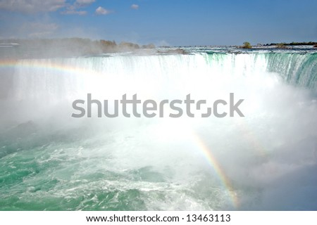 Niagara fall in Canada