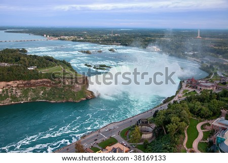 Niagara Falls, Canada - stock photo