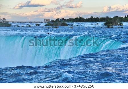 Niagara Falls , Ontario - stock photo
