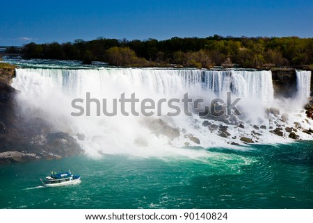 Niagara Falls (US) - stock photo