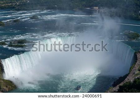 Niagara landscape - stock photo