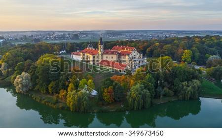 Niasvizh castle, Belarus - stock photo