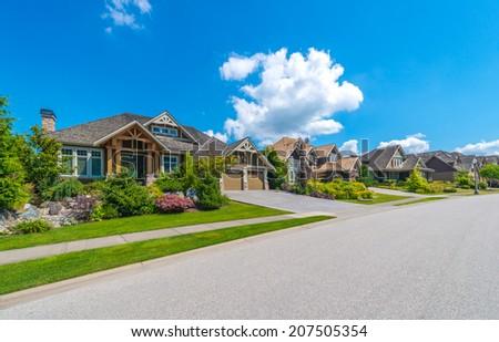 Neighborhood Street Stock Images, Royalty-Free Images ...