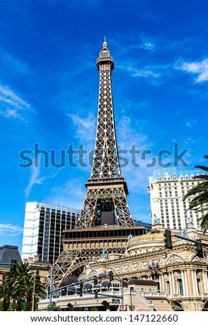 nice and famous crazy town of las vegas, Nevada, southwest, USA - stock photo
