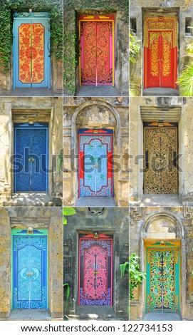 Nice Bali doors & Indonesian Art Stock Images Royalty-Free Images \u0026 Vectors ... Pezcame.Com