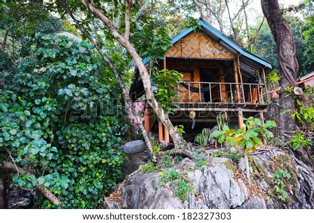 Nice bungalow in Koh Chang island in Thailand