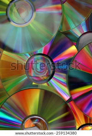 nice cds cover - stock photo