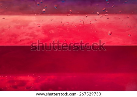 Nice colors in the water closeup photo - stock photo