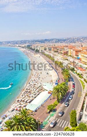 Nice, France - stock photo