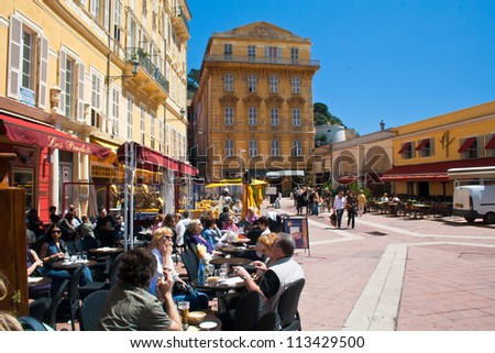 NICE, FRANCE - APRIL 29: Nice, France's fifth most populous city on April 29, 2011 in Nice.