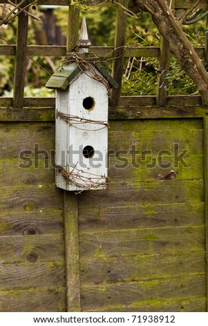 Nice image of a two-level nesting box - stock photo