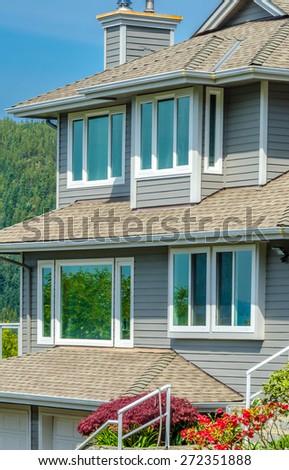 Nice looking windows. - stock photo