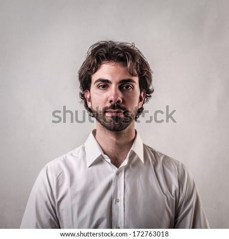 nice portrait - stock photo