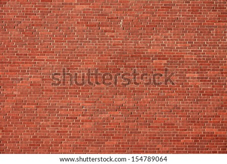 Nice red brick wall - stock photo