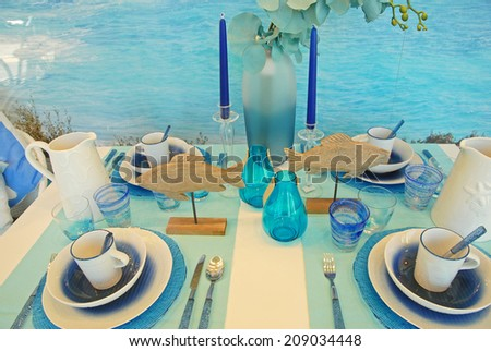 Nice table - stock photo