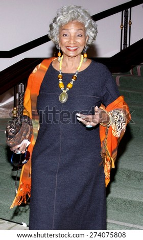 Nichelle Nichols at the 2009 Essence Black Women in Hollywood Luncheon held at the Beverly Hills Hotel in Beverly Hills on February 19, 2009.  - stock photo