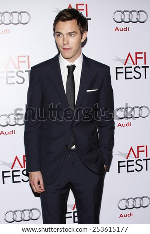 "Nicholas Hoult at the AFI FEST 2009 Screening of ""A Single Man"" held at the Grauman's Chinese Theater in Hollywood, California, United States on November 5, 2009."