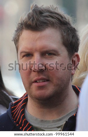 Nick Swardson at Adam Sandler's Star on the Hollywood Walk of Fame ceremony, Hollywood, CA. 02-01-11