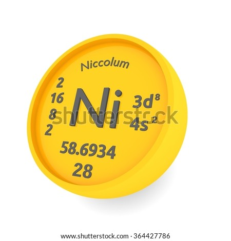 Nickel chemical element sign latin name stock illustration 364427786 nickel chemical element sign with latin name niccolum urtaz Gallery