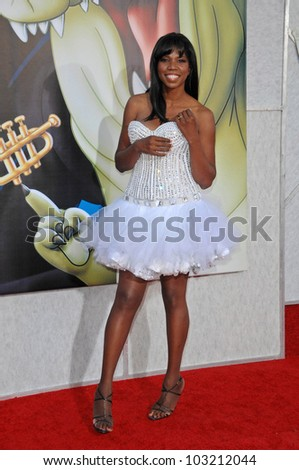 "Nicki Micheaux at the ""The Princess And The Frog"" World Premiere, Walt Disney Studios, Burbank, CA. 11-15-09 - stock photo"