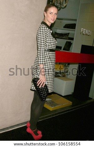 Nicky Hilton   at Fendi Casa for 'Jet Black and Milk White,' an exhibition featuring the photography of Murray Garrett. Fendi Casa, West Hollywood, CA. 12-08-08