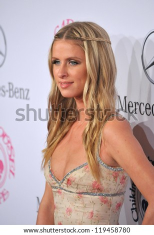 Nicky Hilton at the 26th Carousel of Hope Gala at the Beverly Hilton Hotel. October 20, 2012  Beverly Hills, CA Picture: Paul Smith