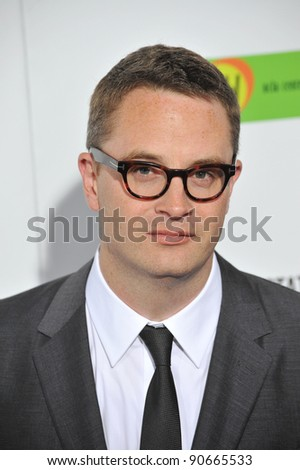 "Nicolas Winding Refn at the Los Angeles premiere of ""In The Land of Blood and Honey"" at the ArcLight Theatre, Hollywood. December 8, 2011  Los Angeles, CA Picture: Paul Smith / Featureflash"