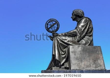 Nicolaus Copernicus - stock photo