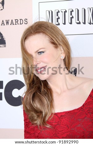 Nicole Kidman  at the 2011 Film Independent Spirit Awards, Santa Monica Beach, Santa Monica, CA 02-26-11