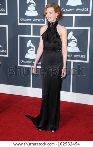 Nicole Kidman at the 52nd Annual Grammy Awards - Arrivals, Staples Center, Los Angeles, CA. 01-31-10
