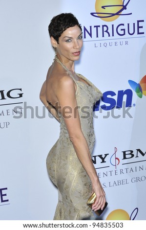 Nicole Murphy at music mogul Clive Davis' annual pre-Grammy party at the Beverly Hilton Hotel. February 9, 2008  Los Angeles, CA Picture: Paul Smith / Featureflash