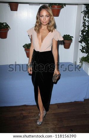 Nicole Richie at DuJour Magazine October Issue Premiere, Mondrian, Los Angeles, CA 09-14-12