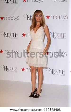 "Nicole Richie at the Nicole Launch of her new fragrance ""FragranceNicole,"" Macys, Glendale, CA 08-29-12"