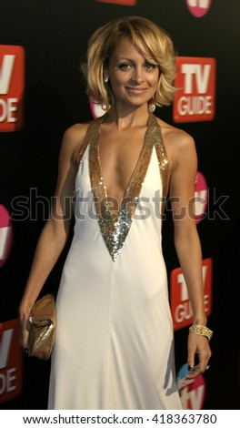 Nicole Richie at the TV Guide and Inside TV 2005 Emmy After Party at the Roosevelt Hotel in Hollywood, USA on September 18, 2005. - stock photo
