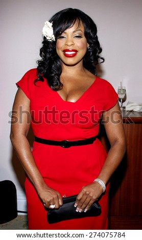 Niecy Nash at the 2009 Essence Black Women in Hollywood Luncheon held at the Beverly Hills Hotel in Beverly Hills on February 19, 2009.  - stock photo