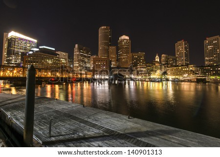 Night Boston
