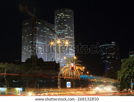 Night city - Tel-aviv