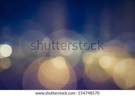 Night lights during a party - stock photo