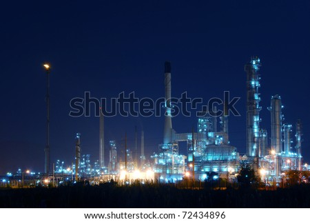 Night of Petrochemical industry