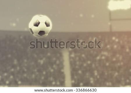 Night of Soccer - stock photo