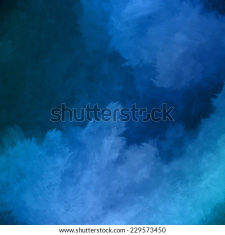 Night sky digital watercolor painting background - stock photo