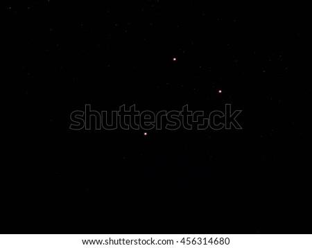 Night sky Stars Background  - stock photo