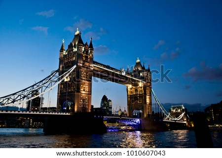 Night Time Tower Bridge