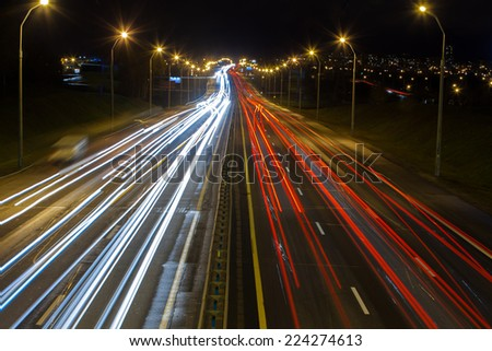 night traffic
